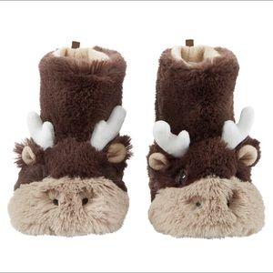 Carter's Toddler Moose Slippers NWOT